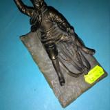 Statueta Cu sania - Sculptura