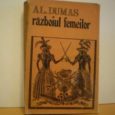 AL. DUMAS - RAZBOIUL FEMEILOR - CARTE DE AVENTURI, SEC. XVII, FRANTA-523 PAG.