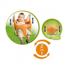 Leagan Evolutiv Smoby - Tobogan copii Smoby, Verde, Plastic