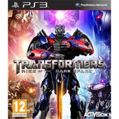 Transformers Rise Of The Dark Spark Ps3 - Jocuri PS3 Activision