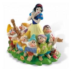 Pusculita Alba ca zapada si cei 7 pitici Bullyland - Pusculita copii