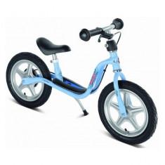 Bicicleta fara pedale cu frana 87 x 34 cm LR1 Br Albastru Puky - Bicicleta copii