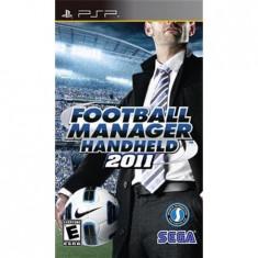 Football Manager Handheld 2011 Psp - Jocuri PSP Sega
