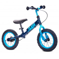 Bicicleta fara pedale Flash Navy Toyz - Bicicleta copii Toyz, 12 inch