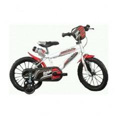 Bicicleta seria MTB 16 inch Alb Dino Bikes - Bicicleta copii