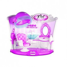 Accesorii Barbie Bbps1 Interactive Pet Hair Salon With Hairdryer And Chair - Papusa