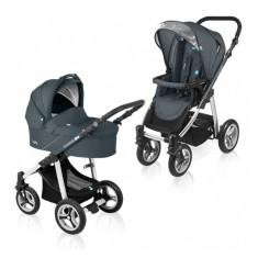 Carucior multifunctional 2 in 1 Lupo Graphite Baby Design - Carucior copii 2 in 1