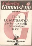 I.Petrica-Teste de matematica ptr. concursul de admitere in liceu