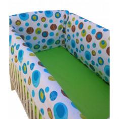 Aparatori laterale pentru pat Maxi 140 x 70 cm Noapte Buna Deseda - Lenjerie pat copii Deseda, Multicolor