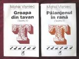 """""""PAIANJENUL IN RANA"""" (Vol. I) + """"GROAPA DIN TAVAN"""" (Vol. II), Matei Visniec,1996"""