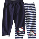 Leggings Hello Kitty - set de 2 perechi albastru