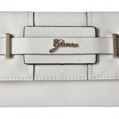 Guess Greyson SLG portofel dama nou alb 100% original Livrare rapida.