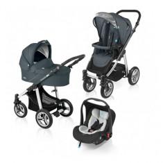 Carucior multifunctional 3 in 1 Lupo Graphite Baby Design - Carucior copii 3 in 1