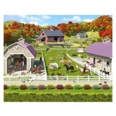 Tapet pentru Copii Horse and Pony Stables Walltastic