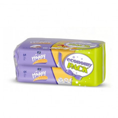 Servetele umede Milk & Honey duo pack 2x64 buc x 10 pachete Happy