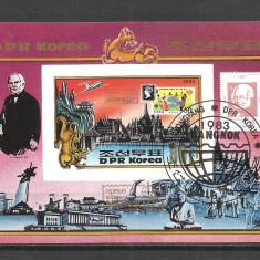 KOREA DE NORD 1983--COLITA - Timbre straine, Stampilat