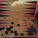Tabla Sah/Table - Mare/Lemn/Sigilata/Cadou/Nou