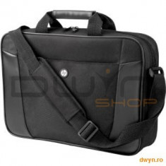 HP Essential Top Load Case - Geanta laptop HP, Geanta de umar, Nailon, Negru