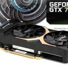 Video Palit GeForce GTX 750 Ti StormX Dual 2GB DDR5 128-bit - Placa video PC