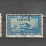 Romania - C.Raiu 1930 supratipar MNH si MLH - Timbre Romania, Nestampilat
