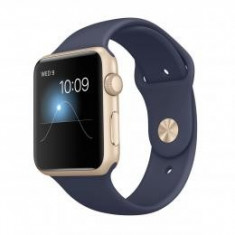 Apple Watch Sport Gold Aluminium 42mm Blau refurbished - Smartwatch