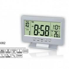 Ceas cu afisaj luminos, alarma, termometru BL-8082 - Ceas desteptator