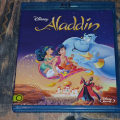 Desen Animat - Aladdin [1 Disc Blu-Ray], Subtitrare in limba Romana + Dublaj RO - Film animatie Altele