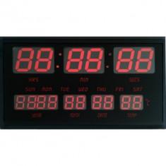 Ceas de perete digital TT4830 afisaj cu LED-uri