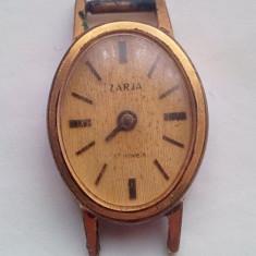 Ceas Zaria 17 jewels placat cu aur 10 microni - Ceas de mana