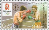 MOLDOVA 2008, Sport - J.O. Beijing, supratipar, serie neuzată, MNH