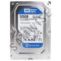 Hard disk 320GB Western Digital Blue, Buffer 16MB SATA-II 7200rpm, GARANTIE !!!, 200-499 GB, SATA2