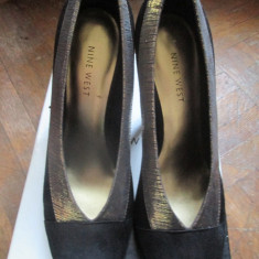 Pantofi Nine West - Pantof dama Nine West, Culoare: Negru