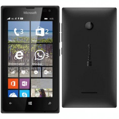 Nokia Lumia 435 Dual sim nou nout sigilat la cutie, 2ani gara+factura!PRET:225lei - Telefon Nokia, Negru, Nu se aplica, Neblocat, Fara procesor