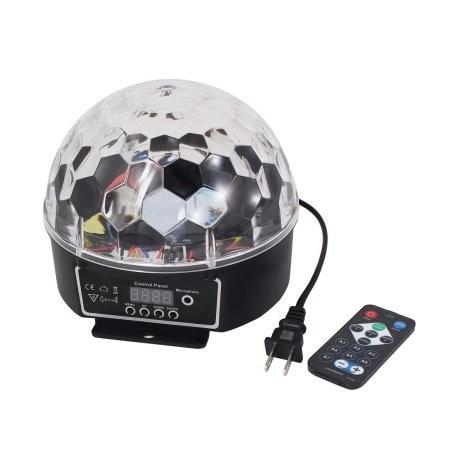 SUPER LUMINA DISCO LED ,DISCO GLOBE  BALL,GLOB ROTATIV CU LED SMD  SENZATIONALE.