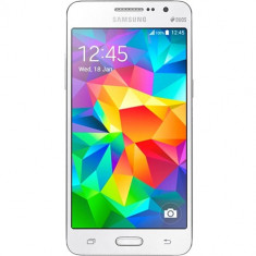 Samsung Smaartphone Samsung Galaxy grand prime dualsim 8gb lte 4g alb - Telefon Samsung, Neblocat