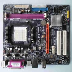 Placa de baza ECS GeForce 6100SM-M DDR2 PCI-E socket AM2, Pentru AMD, MicroATX