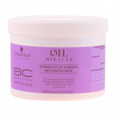 Schwarzkopf - BC OIL MIRACLE barbary fig oil mask 500 ml - Masca de par
