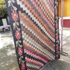 Scoarta moldoveneasca / covor vechi de lana - vechime mare