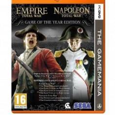 Total War: Empire + Napoleon PC - Jocuri PC Sega