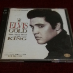 CD ELVIS GOLD 2 CD - Muzica Rock & Roll