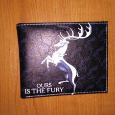 Portofel -Ours is the Fury/Game of Thrones/Urzeala Tronurilor - Unisex