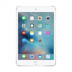 Apple iPad mini 4 Wi-Fi + Cellular 64 GB Gold (MK8C2FD/A), Auriu, Wi-Fi + 4G