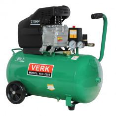 Compresor de aer Verk putere 2CP capacitate 50 litri - Compresor electric
