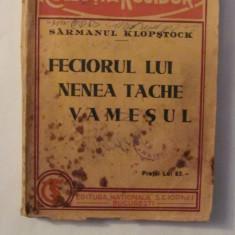 """CY - Sarmanul KLOPSTOCK """"Feciorul lui Nea Tache Vamesul"""" (Uvertura) interbelica"""
