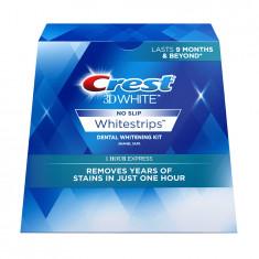 Albirea Dintilor cu Crest Whitestrips 1-Hour Express - CUTIE 14 BENZI