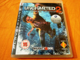 Joc Uncharted 2 Among Thieves, exclusiv PS3, alte sute de jocuri!, Actiune, 16+, Single player, Sony