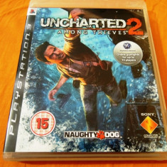 Joc Uncharted 2 Among Thieves, exclusiv PS3, alte sute de jocuri! - Jocuri PS3 Sony, Actiune, 16+, Single player