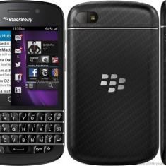 BlackBerry Q10 - Telefon mobil Blackberry Q10, Negru, Neblocat