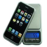 Cantar tip iPhone digital de bijuterii cu display - Cantar bijuterii