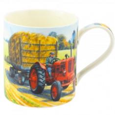 Cana tractor din portelan - Filtru si cana filtranta